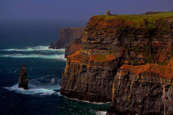 The Burren Photograph - Cliffs Of Moher by Andrew Turner