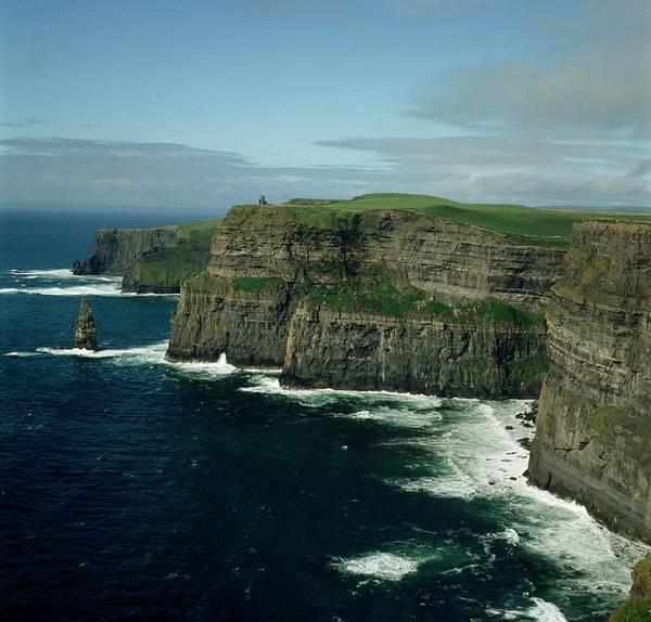 The Burren Photograph - Cliffs Of Moher, County Clare, Ireland by Design Pics