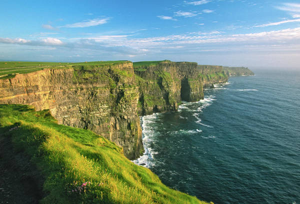 The Burren Photograph - Cliffs Of Moher by Keithszafranski