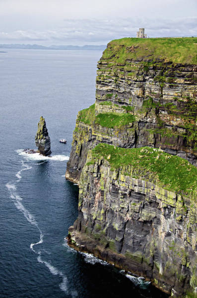 Moher Photograph - Cliffs Of Moher by Michelle Mcmahon