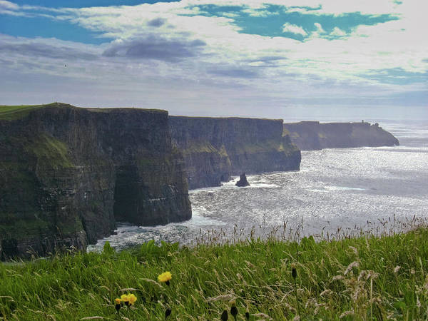 The Burren Photograph - Cliffs Of Moher by Miguel Moreira