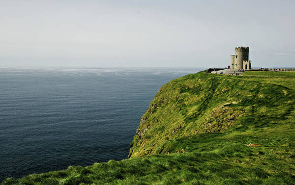 Moher Photograph - Cliffs Of Moher Tower by Michelle Mcmahon