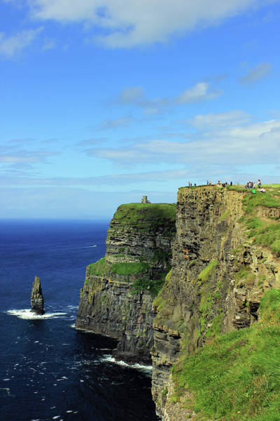 The Burren Photograph - Clifs Of Moher by Tagliatella Style