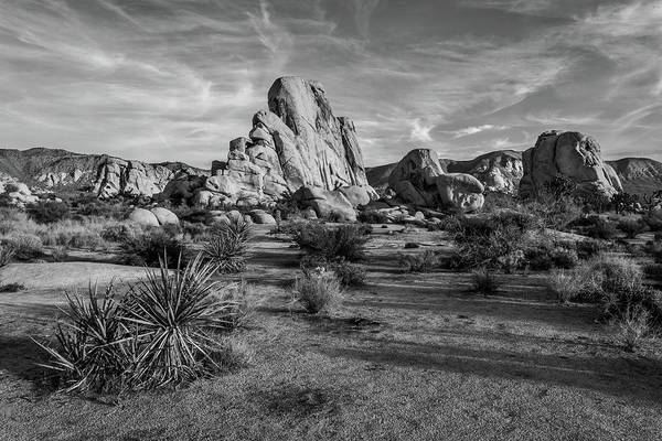 Wall Art - Photograph - Climb Every Rock - Black And White by Peter Tellone