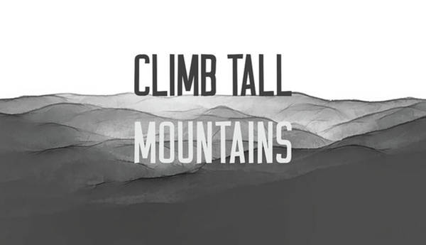 Photograph - Climb Tall Mountains #inspirational by Andrea Anderegg