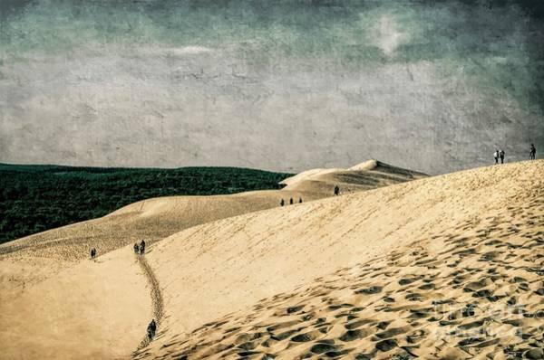 Wall Art - Photograph - Climbing Le Dune Du Pilat 2 by Luther Fine Art