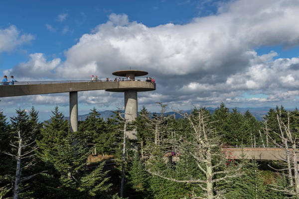 Photograph - Clingman's Dome by Joe Leone