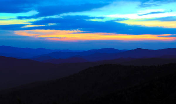 Photograph - Clingmans Dome Sunset by Dan Sproul