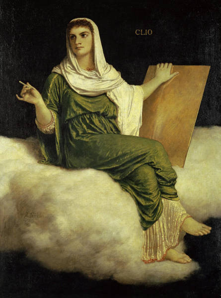 Wall Art - Painting - Clio, 1875 by Arnold Bocklin