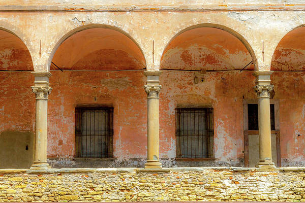 Wall Art - Photograph - Cloister Of Sant'agata by W Chris Fooshee