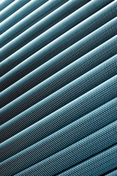 Vertical Perspective Photograph - Close-up Abstract Of Lined Pattern by Ralf Hiemisch
