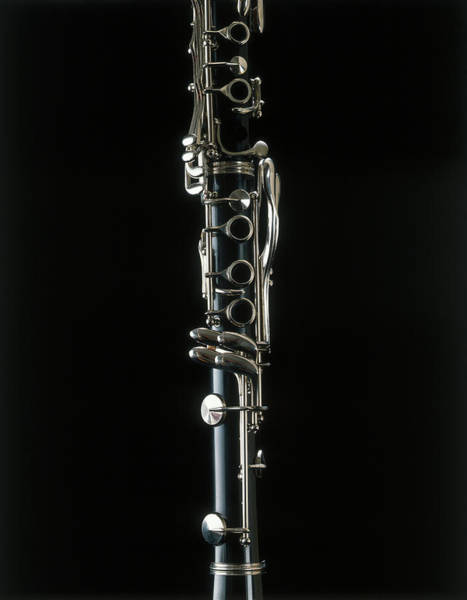 Clarinet Wall Art - Photograph - Close-up Of A Clarinet by 10000