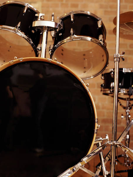 Wall Art - Photograph - Close-up Of A Drum Kit by Digital Vision.
