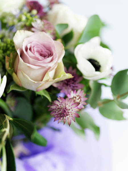 Skane Photograph - Close Up Of Bouquet by Carlsson, Peter