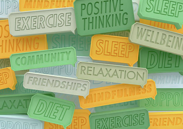 Wall Art - Photograph - Close Up Of Lots Of Positive Healthy by Ikon Images