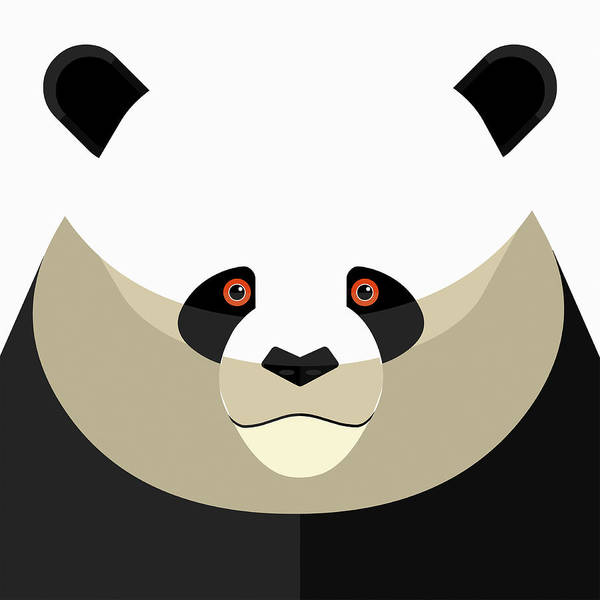 Wall Art - Photograph - Close Up Of Pandas Face Looking by Ikon Images