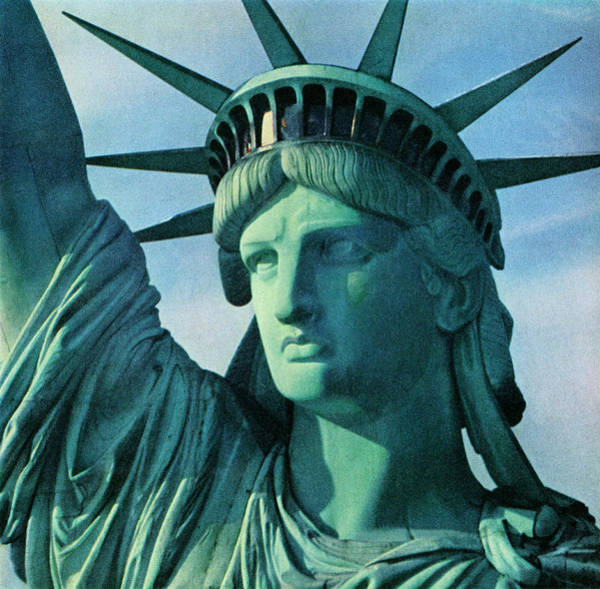 Wall Art - Photograph - Close-up Of Statue Of Liberty by Graphicaartis
