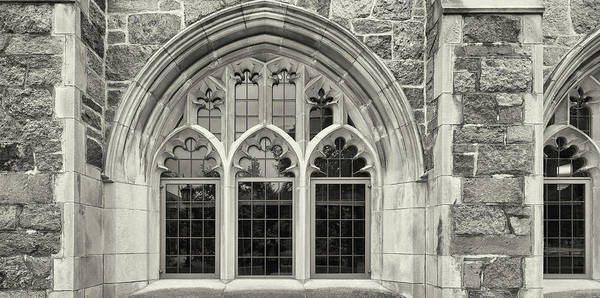 Chestnut Hill Photograph - Close Up Of Window Of Boston College by Panoramic Images