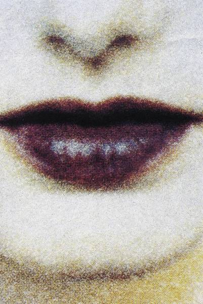 Catalog Photograph - Close-up On A Mouth - by Veronique Durruty