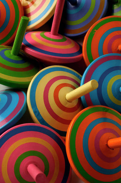 Photograph - Close Up On Assortment Of Multicoloured by Garry Gay