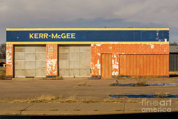Photograph - Closed Kerr - Mcgee Station by Imagery by Charly