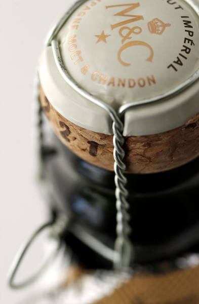 Cage Photograph - Closure Of Champagne Bottle - Cork And by Atw Photography