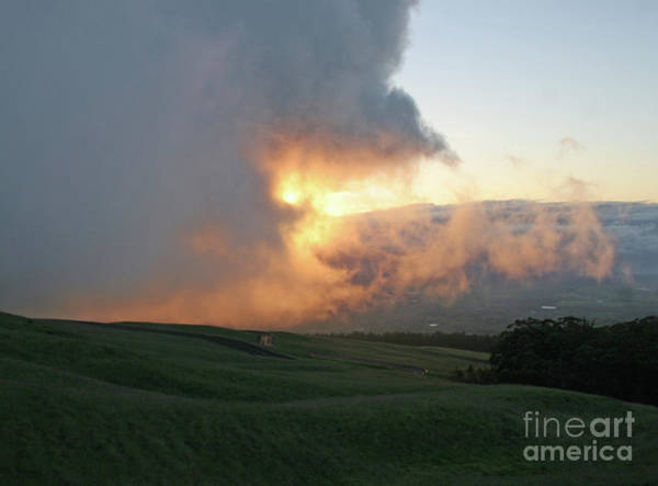 Photograph - Cloud Bank And Sunset by PJ Boylan