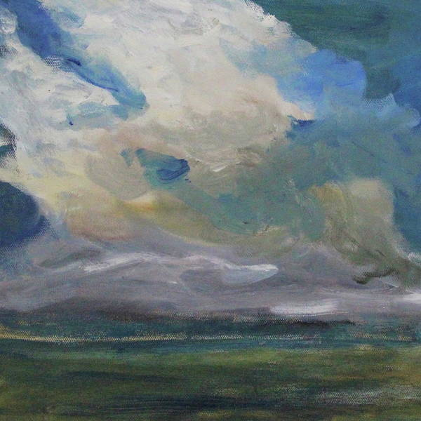 Painting - Cloud Drifting by Michael Helfen