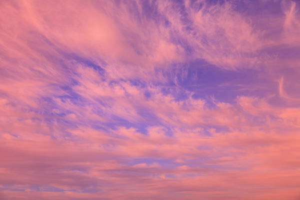 Wall Art - Photograph - Cloud Formations Near Sunset by Stuart Westmorland