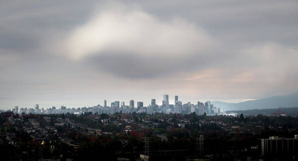 Photograph - Cloud On Vancouver  by Juan Contreras