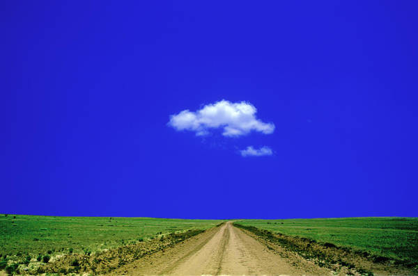 Wall Art - Photograph - Cloud Over Dirt Road by Eddie Hironaka