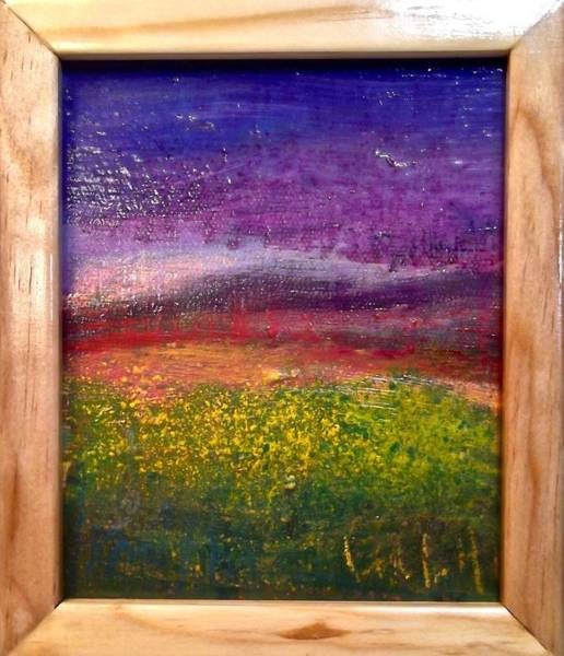 Painting - Cloud Purple by Les Leffingwell