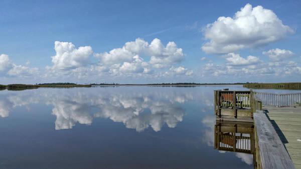 Photograph - Cloud Reflections by Liza Eckardt