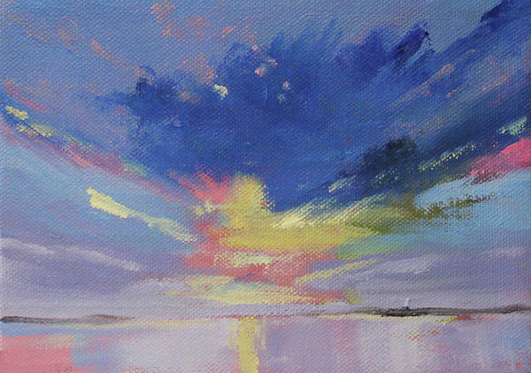 Painting - Cloud Sparkle by Nancy Merkle