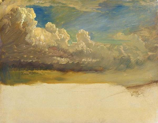 Wall Art - Painting - Cloud Study - Digital Remastered Edition by Frederic Edwin Church