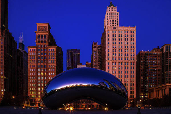 Wall Art - Photograph - Cloudgate Chicago by Andrew Soundarajan