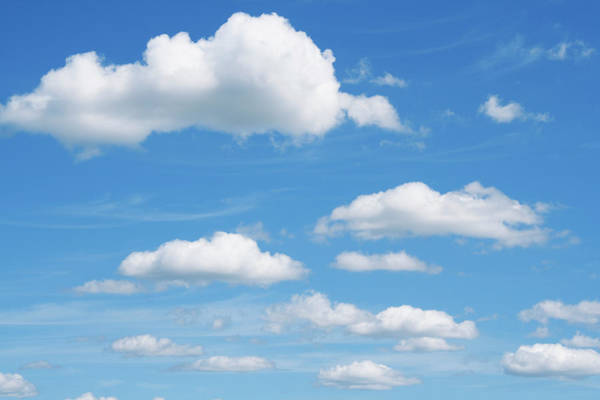Cloud Photograph - Clouds And Blue Skies by Ron thomas