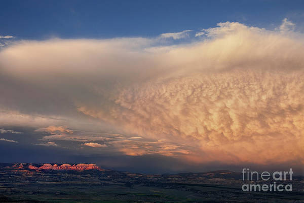 Photograph - Clouds At Sunset From Bryce Point Bryce Canyon National Park Utah by Dave Welling