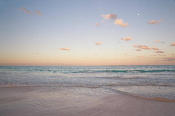 Eleuthera Island Photograph - Clouds At Sunset Over Pink Sands Beach by Ellen Rooney / Robertharding