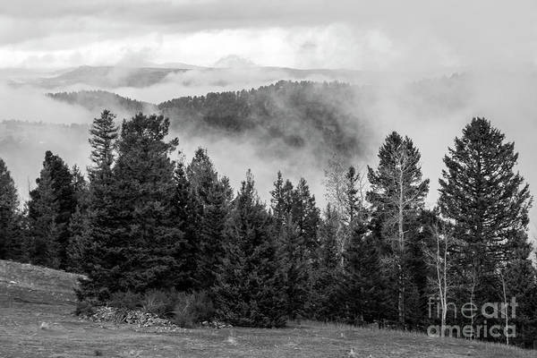 Photograph - Clouds Forming In The Rockies by Steve Krull