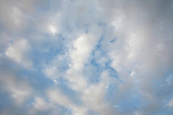 Season Photograph - Clouds In A Late Afternoon Sky by Nine Ok