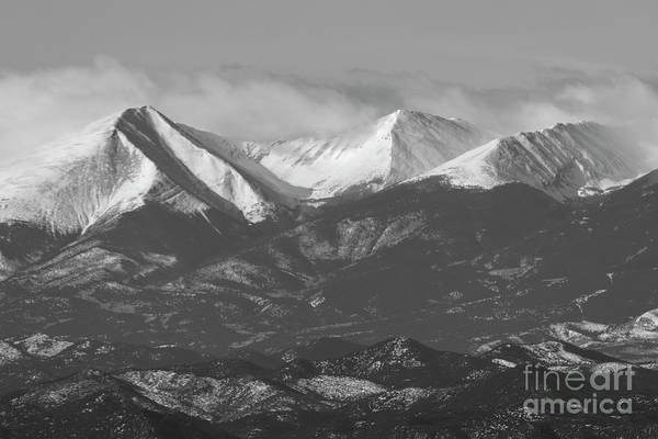 Photograph - Clouds On The Sangre De Cristo by Steve Krull