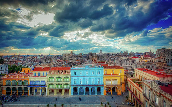Wall Art - Photograph - Clouds Over Havana by Mountain Dreams
