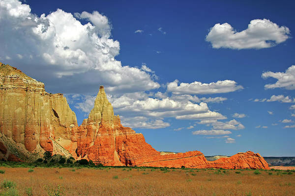 Kodachrome Wall Art - Photograph - Clouds Over Kodachrome Basin State Park by David Toussaint