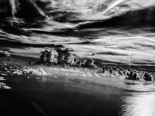Photograph - Clouds Over Sea by Paul Croll