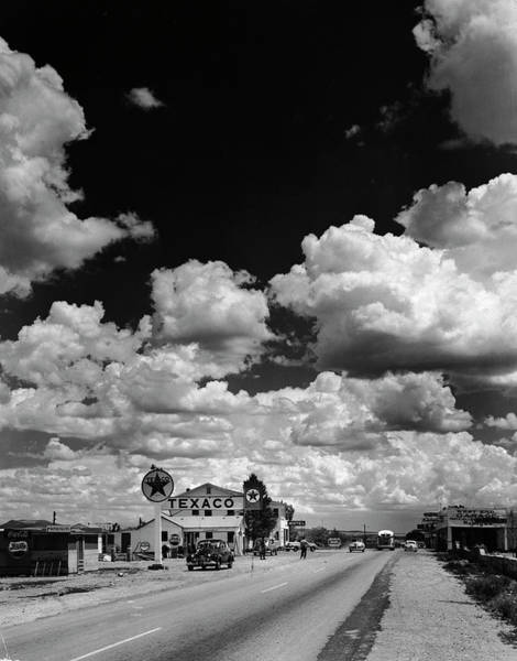 Usa Photograph - Clouds Over Seligman by Andreas Feininger