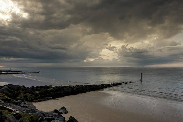 Photograph - Clouds Over Sheringham Beach by Scott Lyons