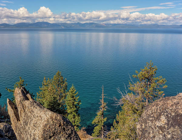 Photograph - Clouds Over Tahoe by Loree Johnson