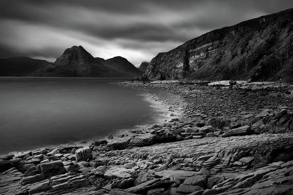 Wall Art - Photograph - Clouds Over The Cuillin by Dave Bowman