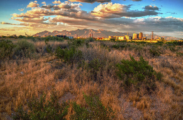 Photograph - Clouds Over Tucson And Catalinas by Chance Kafka